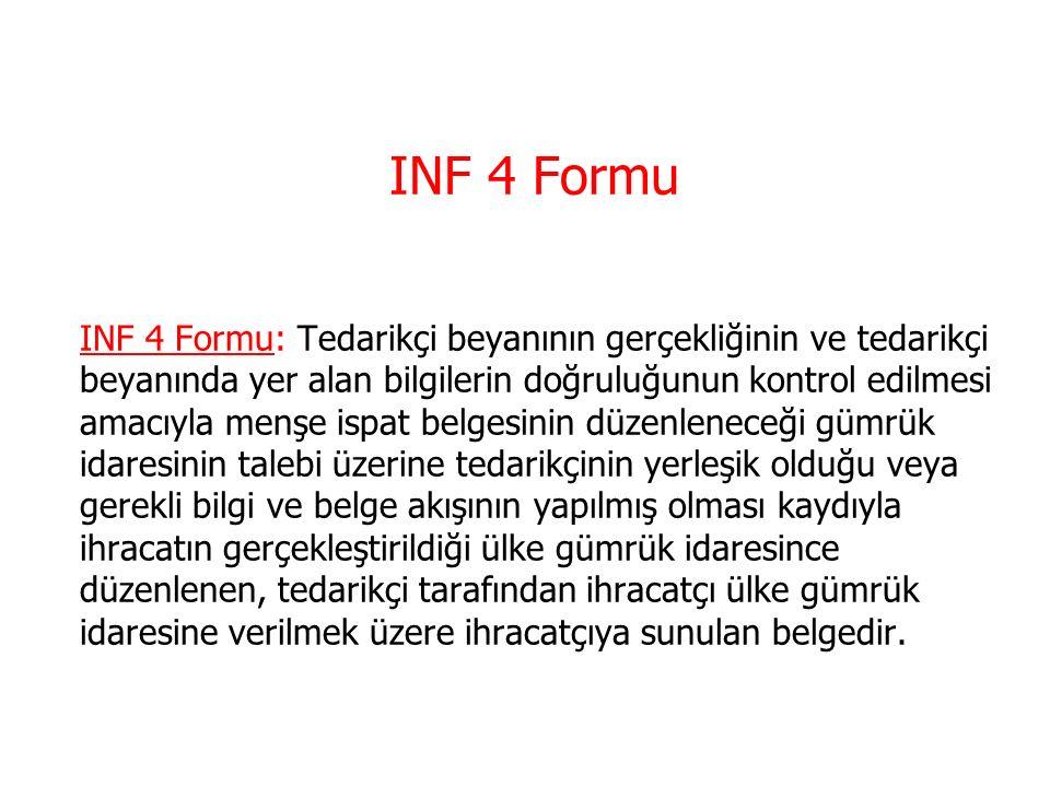INF 4 Formu