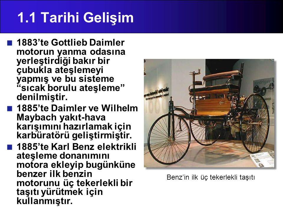 Benz'in ilk üç tekerlekli taşıtı