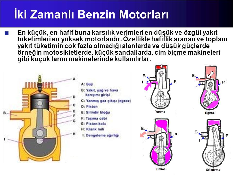 İki Zamanlı Benzin Motorları