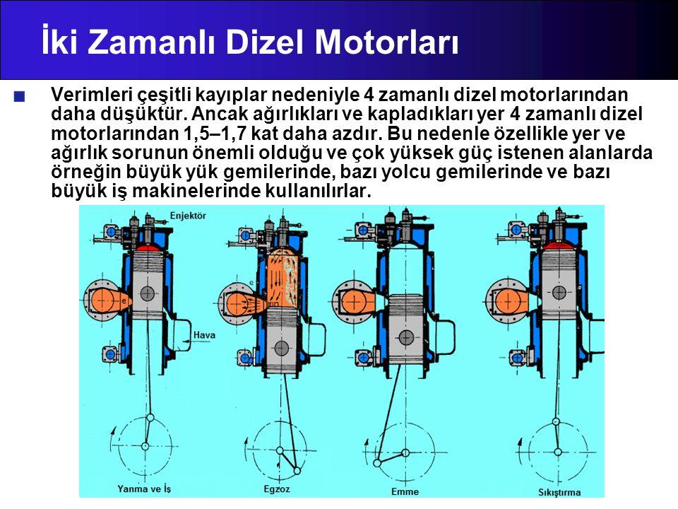 İki Zamanlı Dizel Motorları