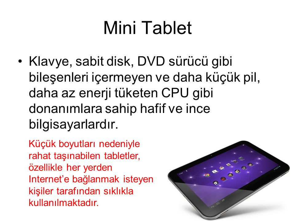 Mini Tablet