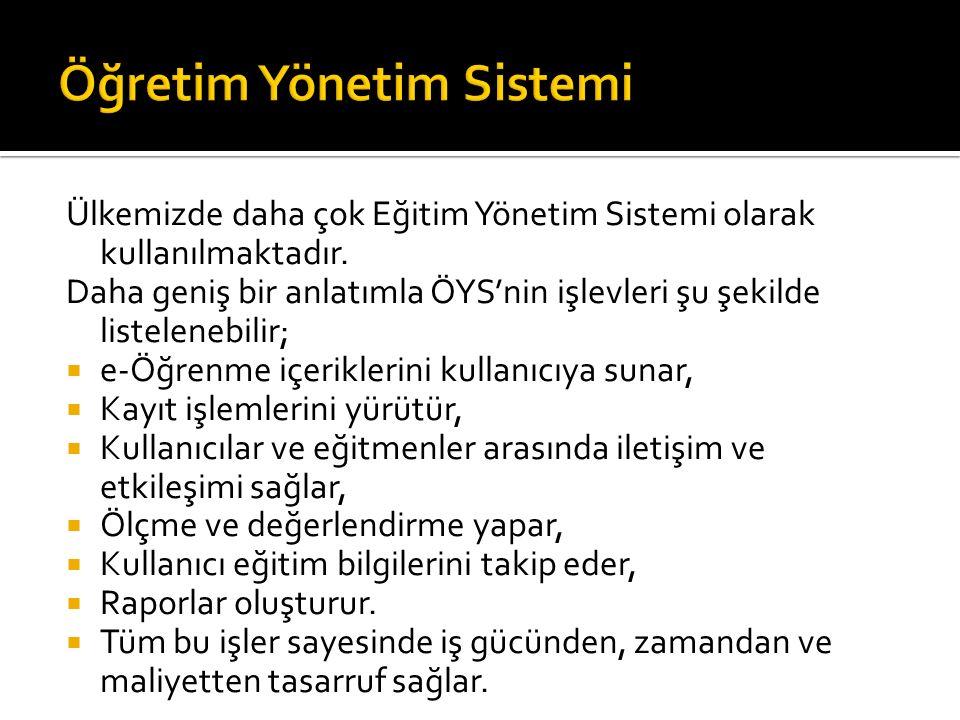 Öğretim Yönetim Sistemi