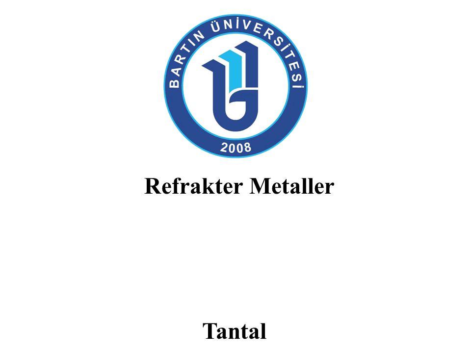 Refrakter Metaller Tantal