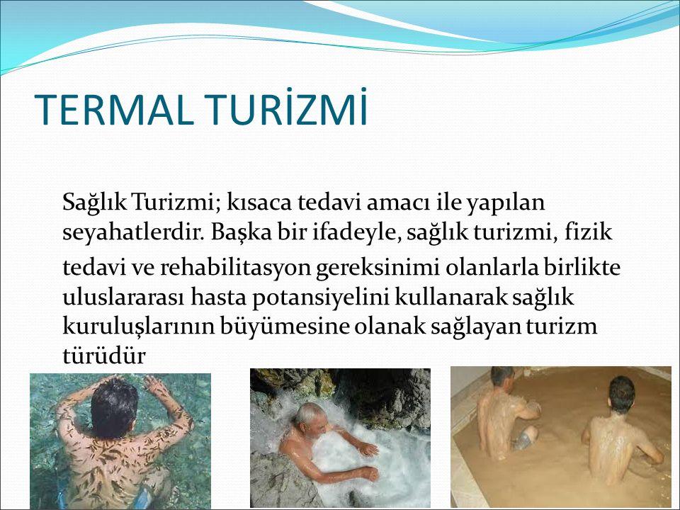 TERMAL TURİZMİ