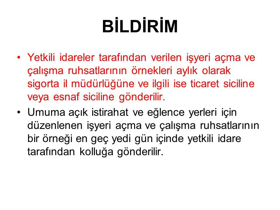 BİLDİRİM