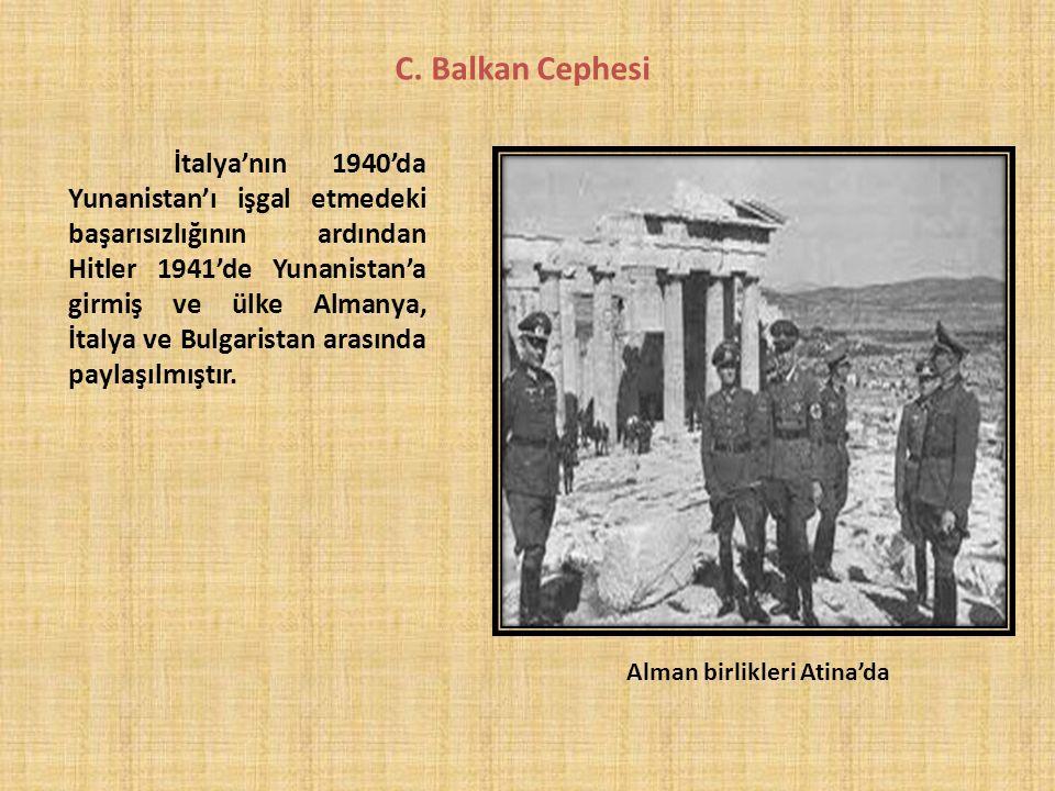 Alman birlikleri Atina'da