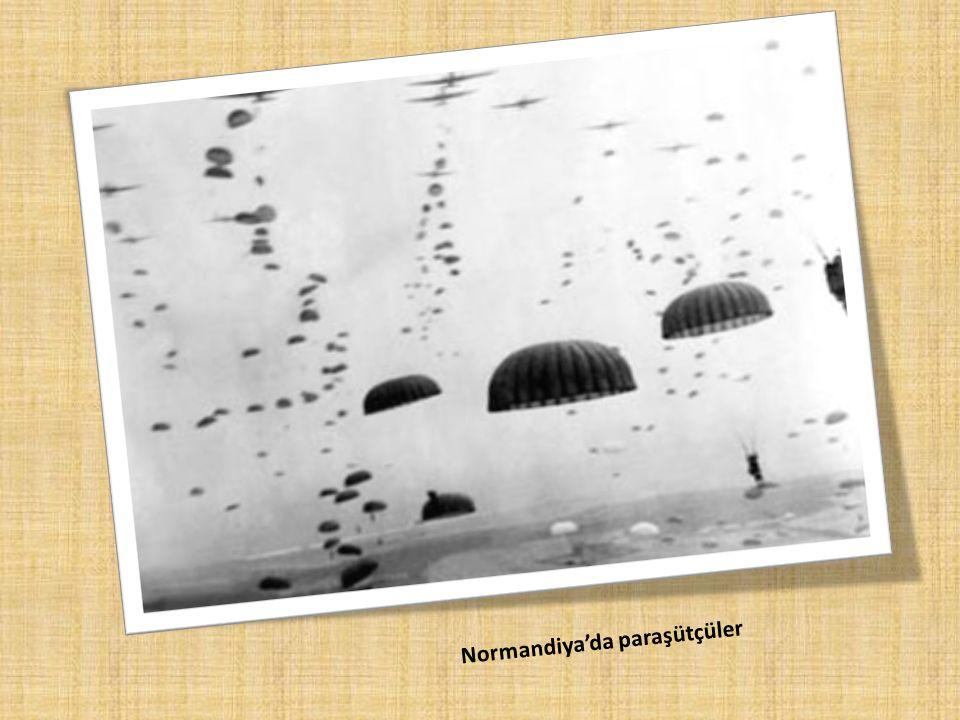 Normandiya'da paraşütçüler
