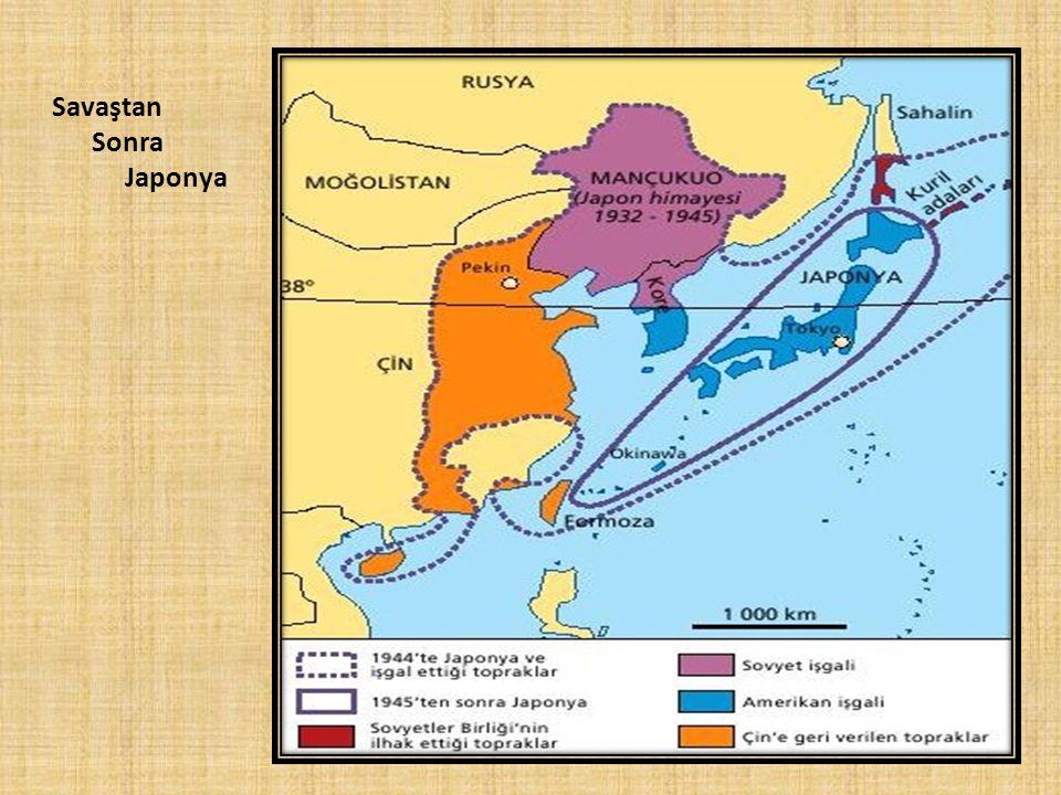 Savaştan Sonra Japonya