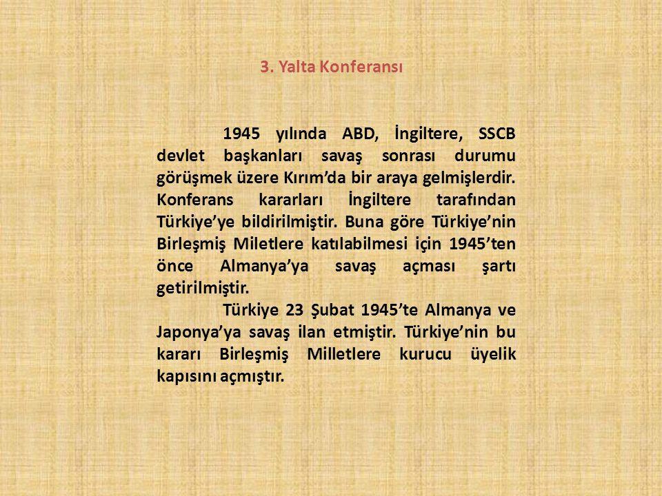 3. Yalta Konferansı