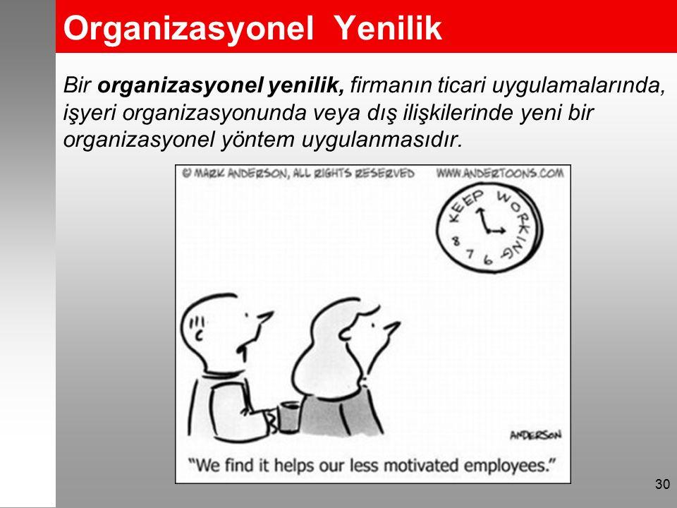 Organizasyonel Yenilik