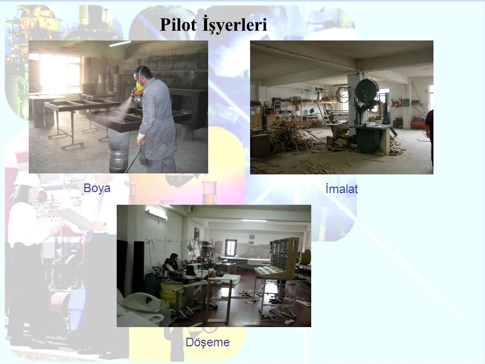 Pilot İşyerleri Boya İmalat Döşeme