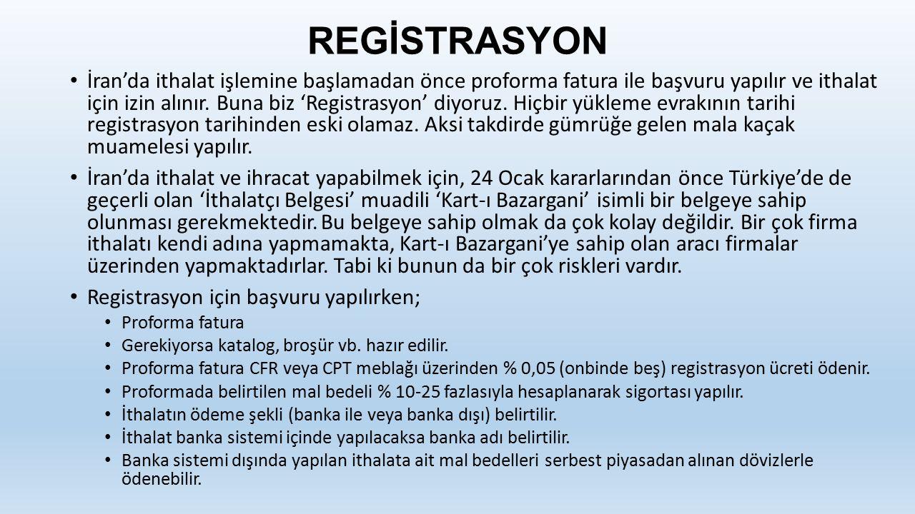 REGİSTRASYON