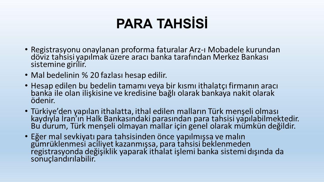 PARA TAHSİSİ
