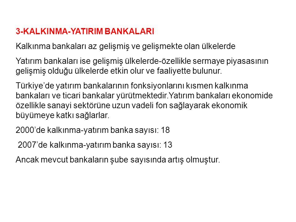 3-KALKINMA-YATIRIM BANKALARI