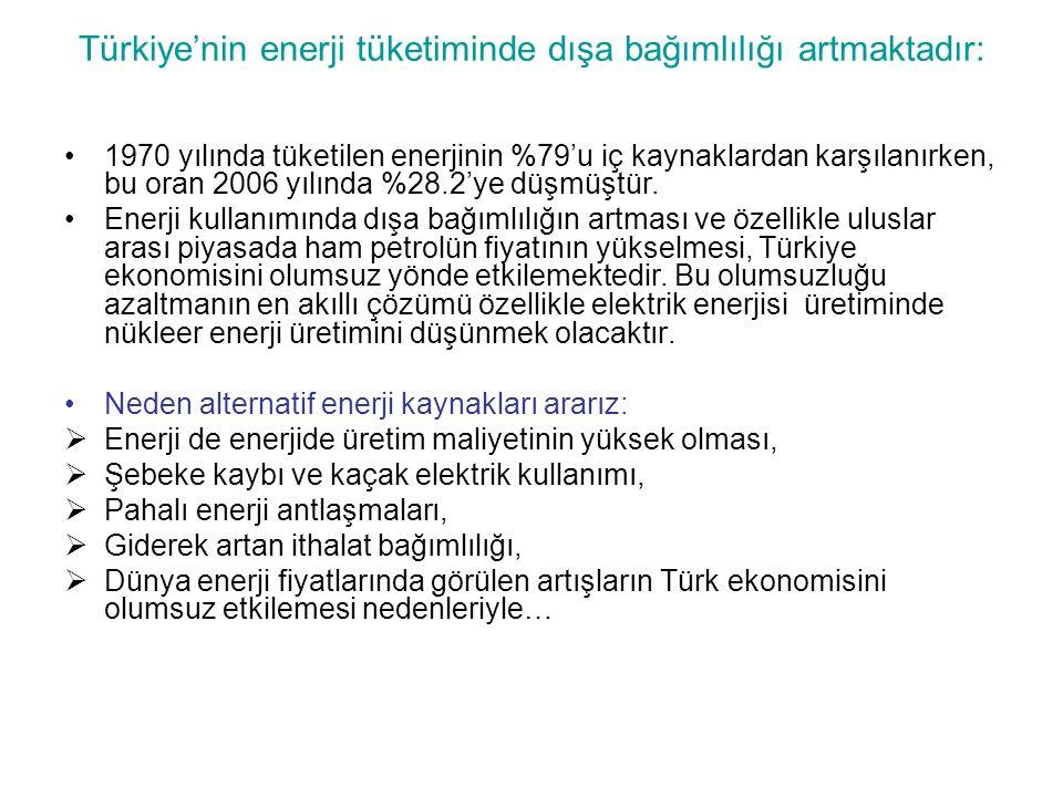 Türkiye'nin enerji tüketiminde dışa bağımlılığı artmaktadır: