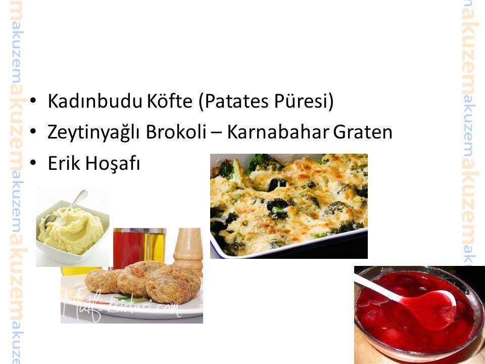 Kadınbudu Köfte (Patates Püresi)