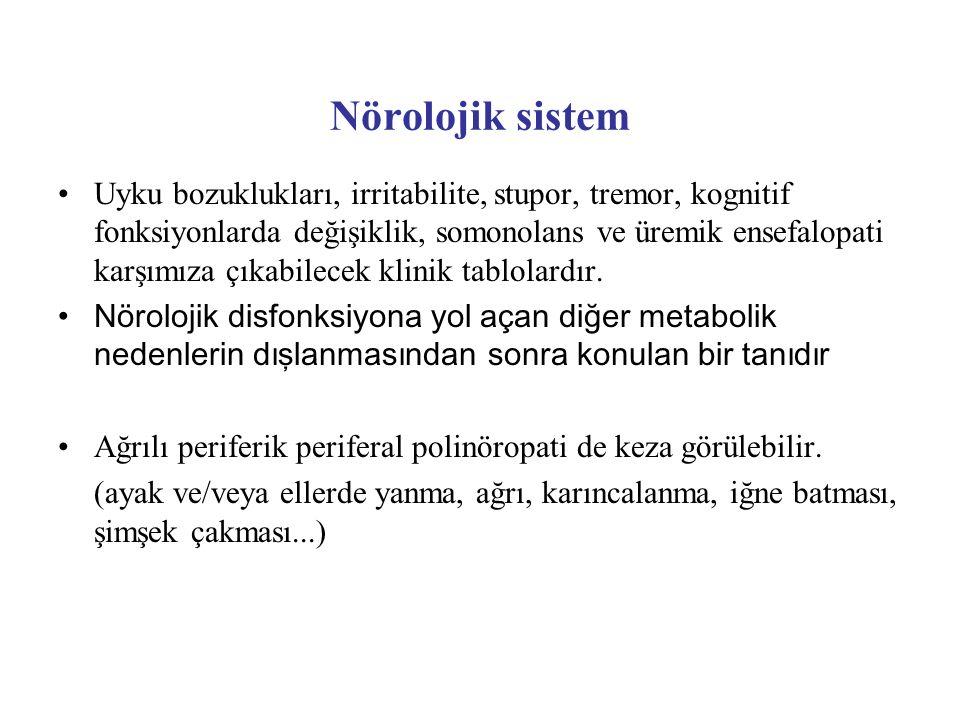 Nörolojik sistem