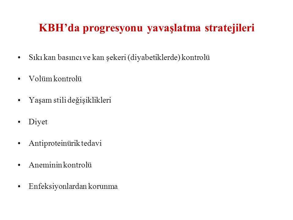 KBH'da progresyonu yavaşlatma stratejileri