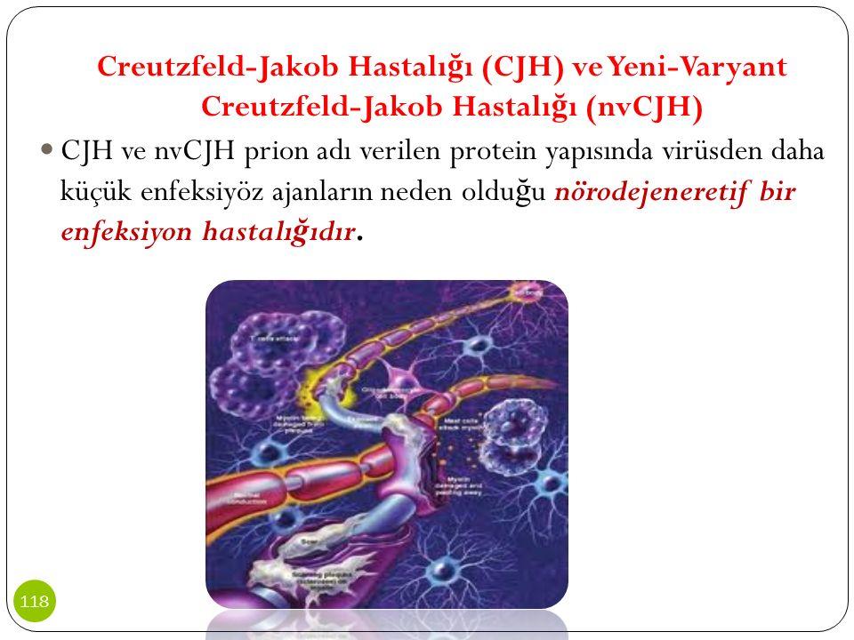 Creutzfeld-Jakob Hastalığı (CJH) ve Yeni-Varyant Creutzfeld-Jakob Hastalığı (nvCJH)
