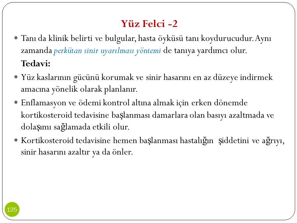 Yüz Felci -2
