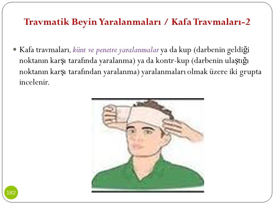 Travmatik Beyin Yaralanmaları / Kafa Travmaları-2