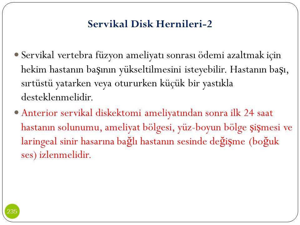 Servikal Disk Hernileri-2