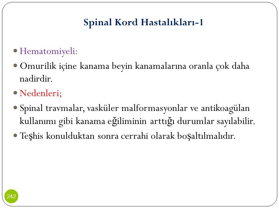 Spinal Kord Hastalıkları-1