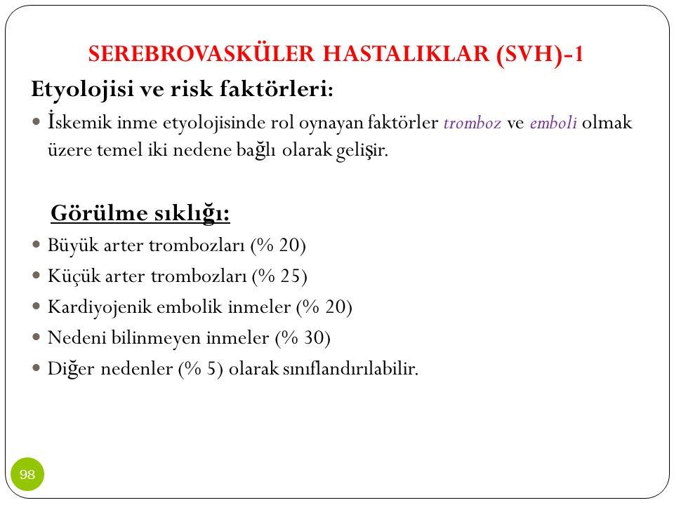 SEREBROVASKÜLER HASTALIKLAR (SVH)-1