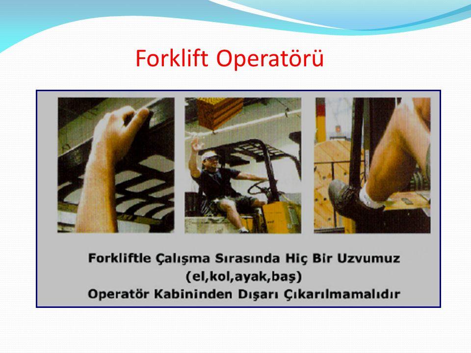 Forklift Operatörü