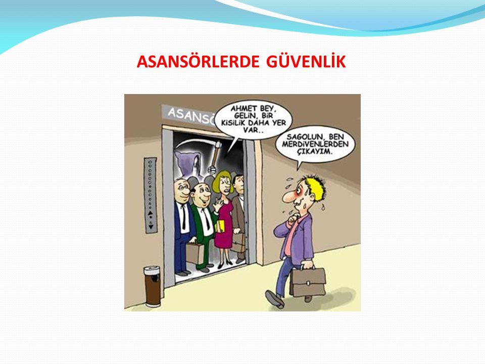 ASANSÖRLERDE GÜVENLİK