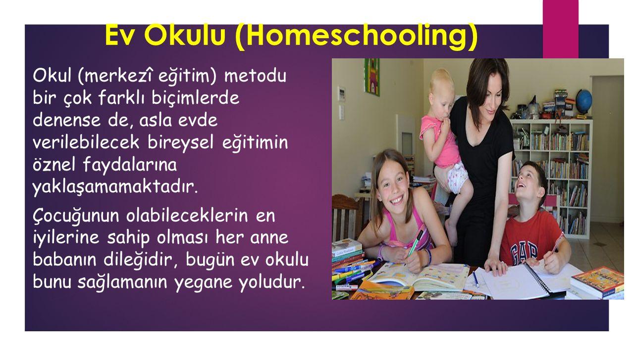 Ev Okulu (Homeschooling)