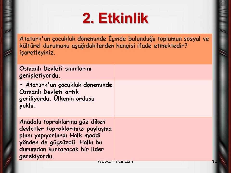 2. Etkinlik