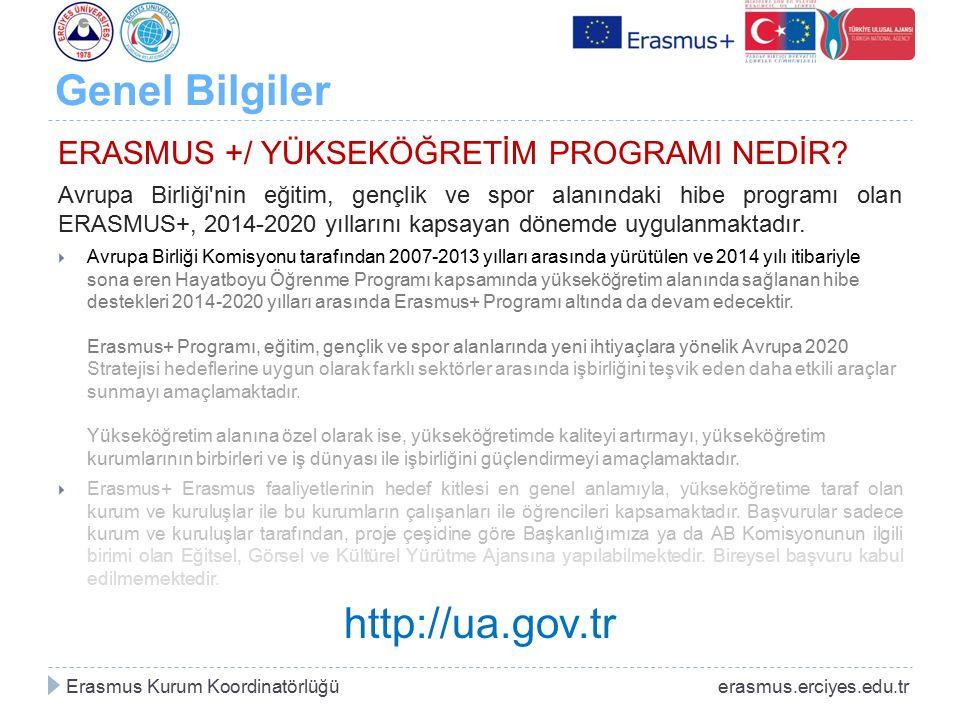 Genel Bilgiler http://ua.gov.tr