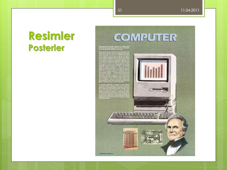 11.04.2011 Resimler Posterler