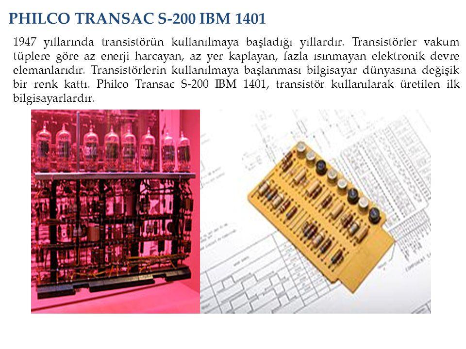 PHILCO TRANSAC S-200 IBM 1401
