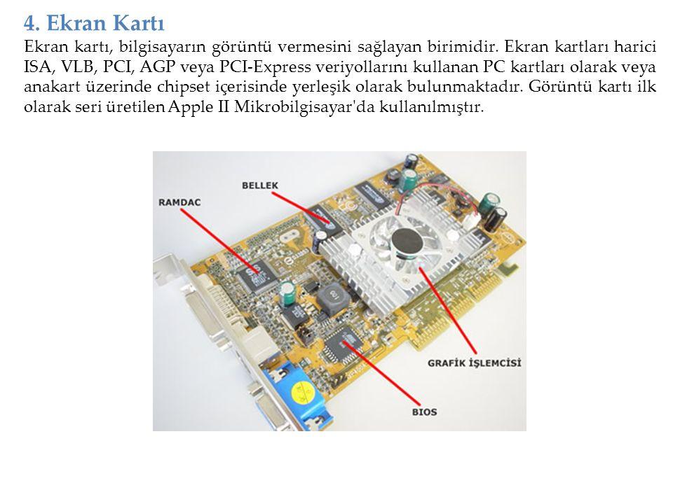 4. Ekran Kartı