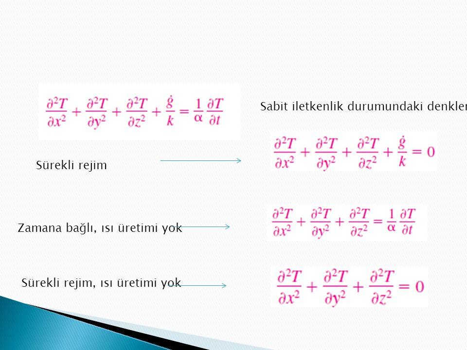 Sabit iletkenlik durumundaki denklem