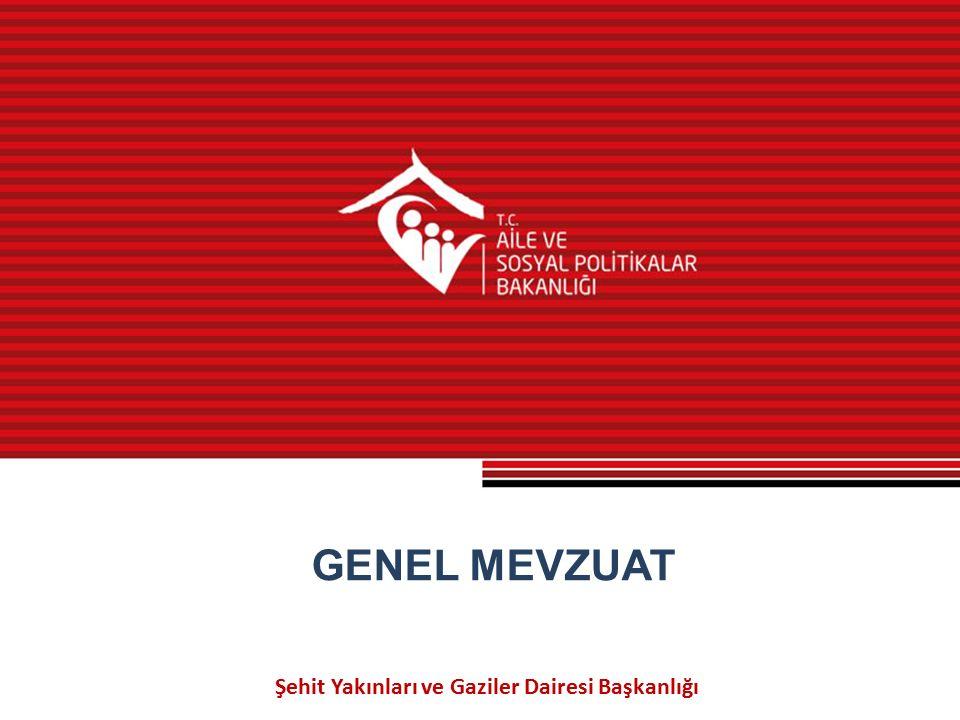 Şehit Yakınları ve Gaziler Dairesi Başkanlığı