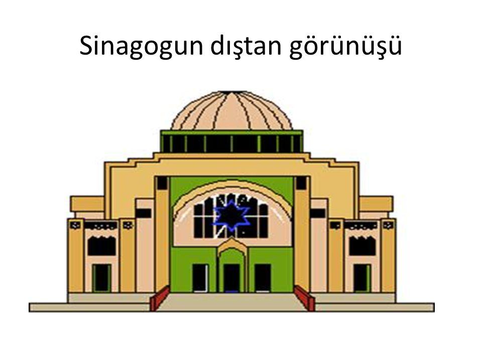 Sinagogun dıştan görünüşü