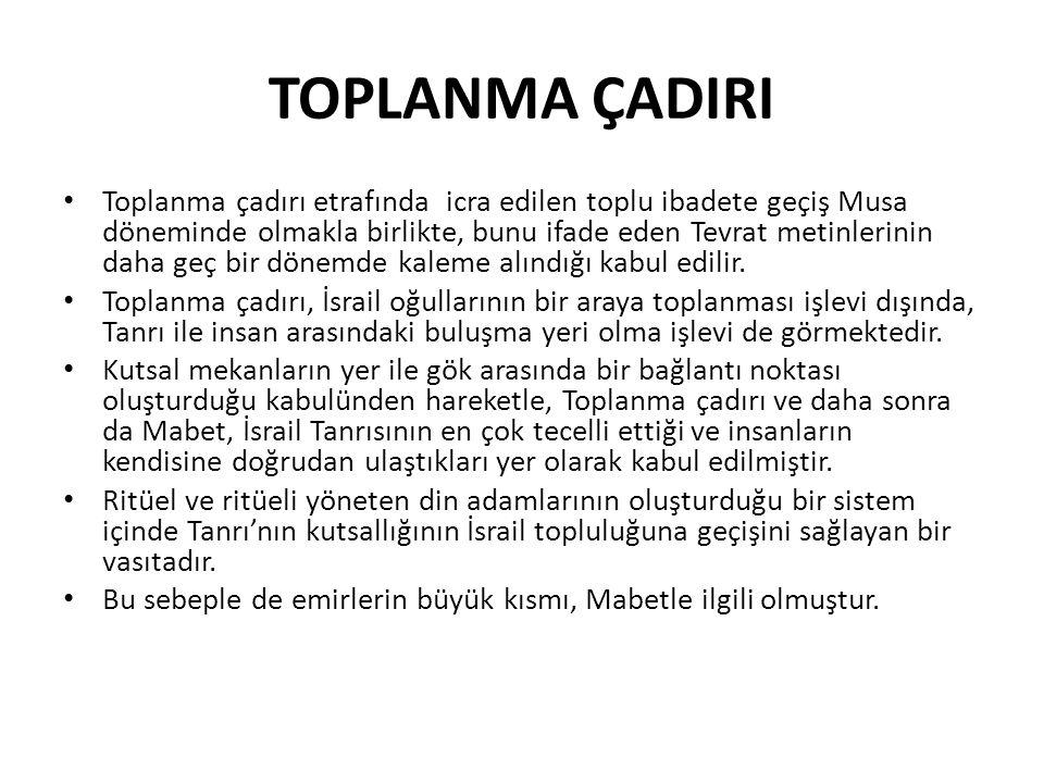 TOPLANMA ÇADIRI