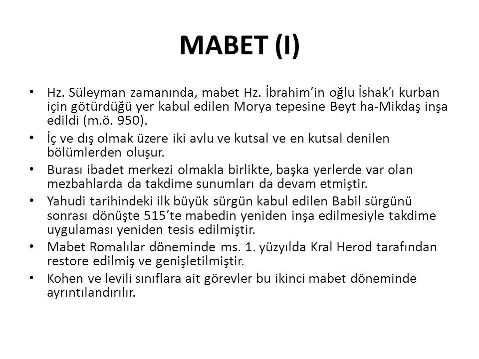 MABET (I)