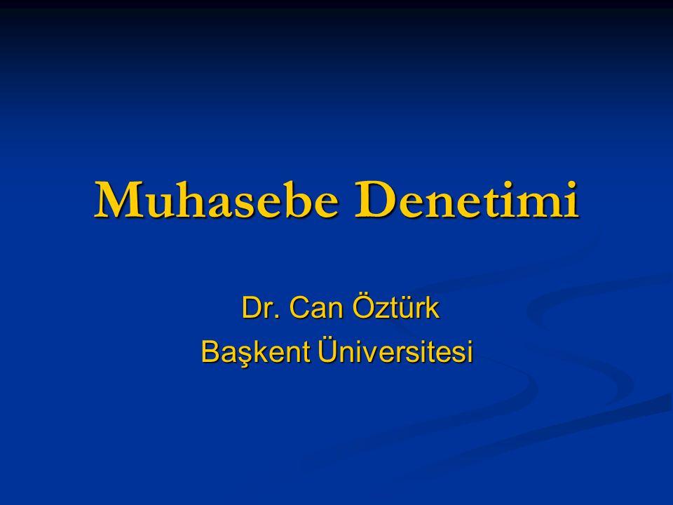 Dr. Can Öztürk Başkent Üniversitesi