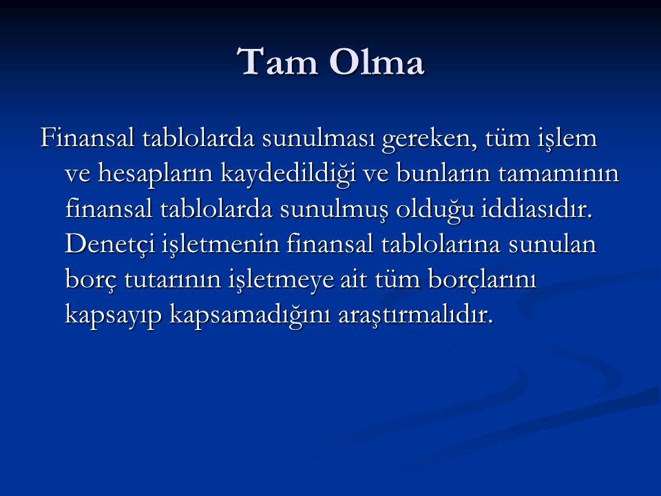 Tam Olma