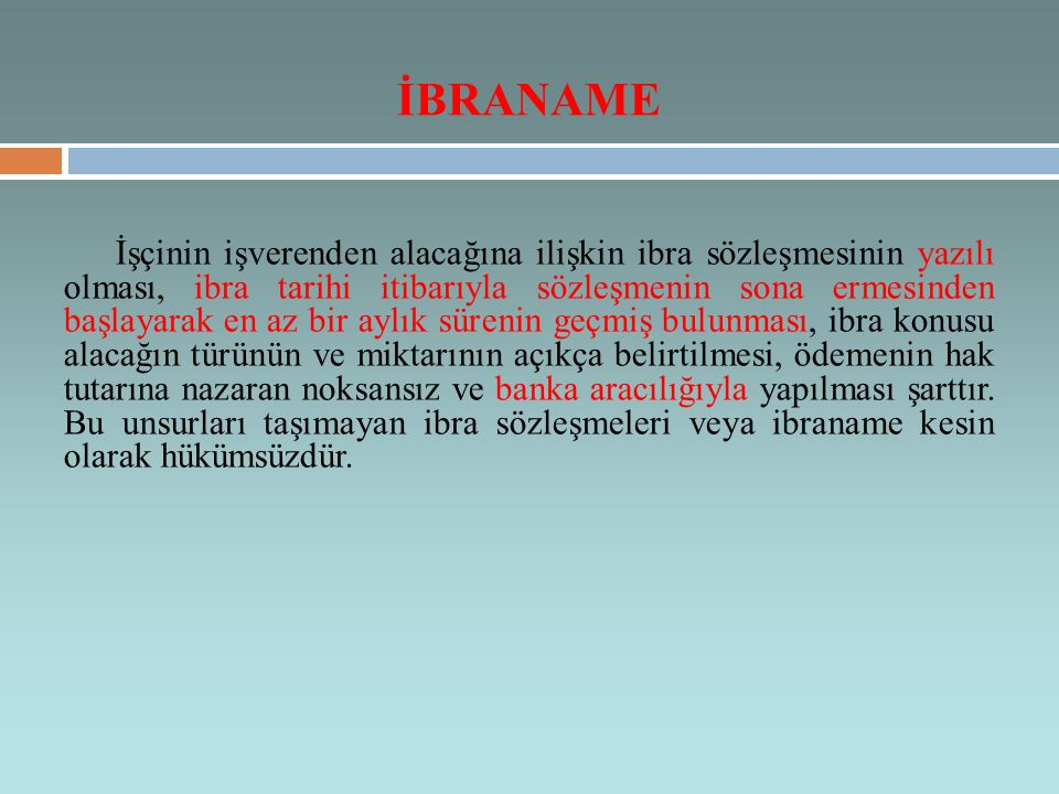 İBRANAME
