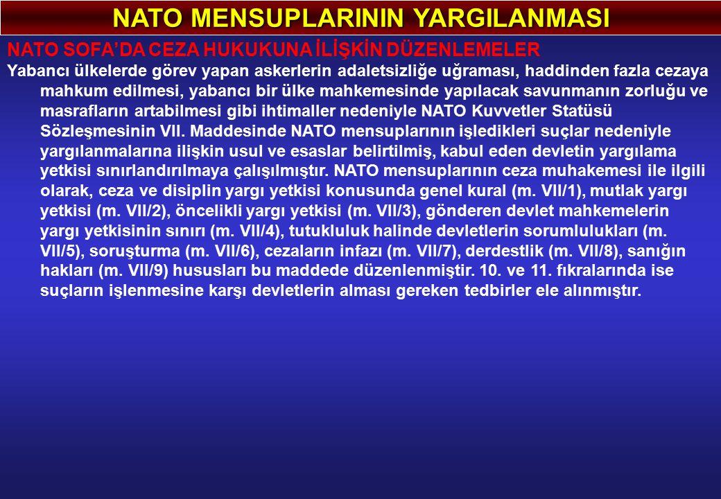 NATO MENSUPLARININ YARGILANMASI