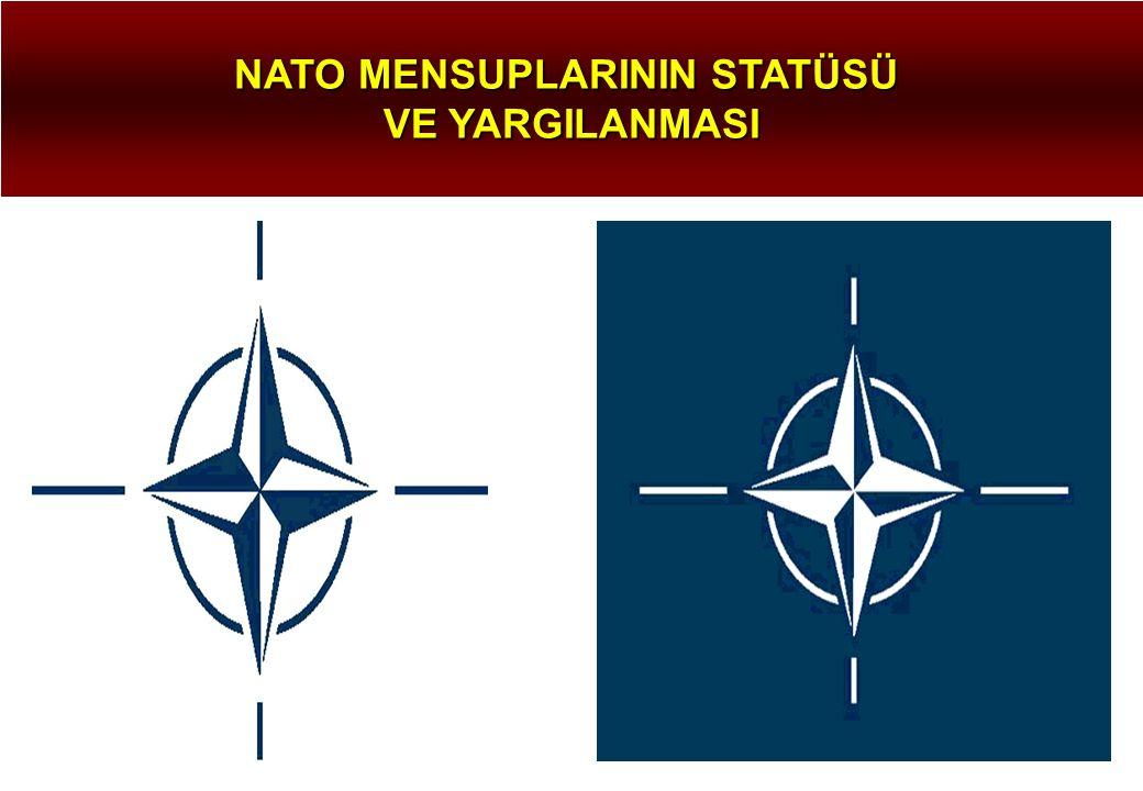 NATO MENSUPLARININ STATÜSÜ