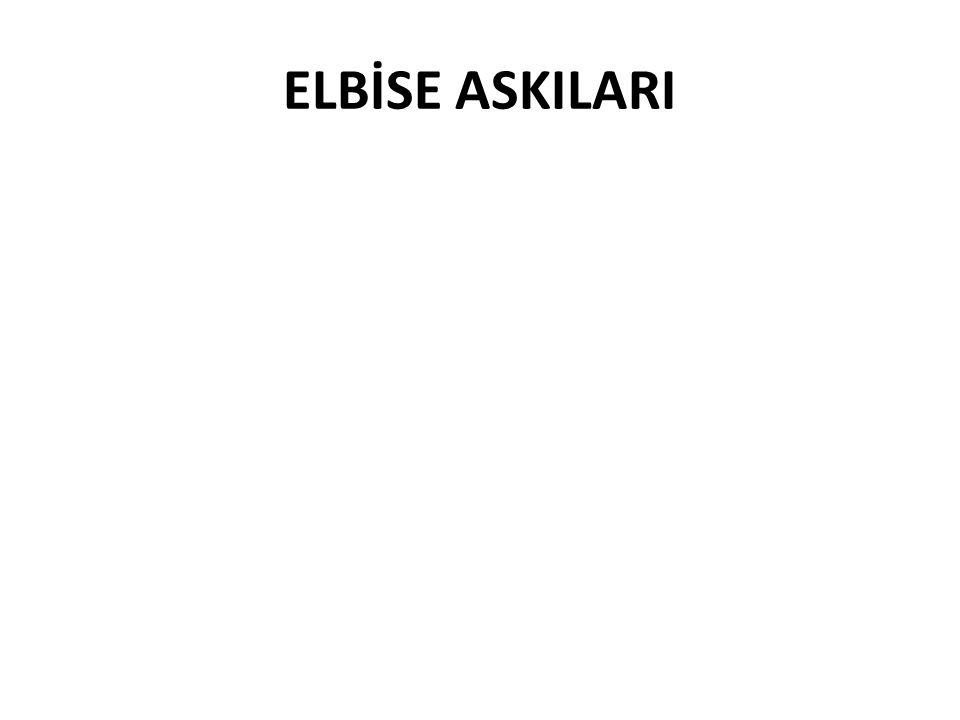 ELBİSE ASKILARI