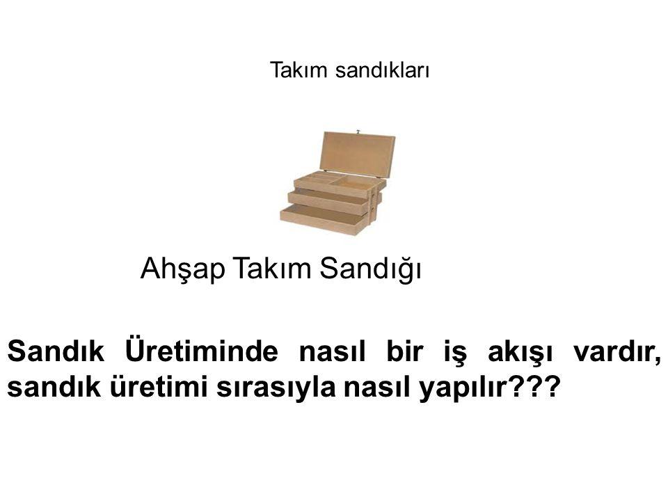 Takım sandıkları Ahşap Takım Sandığı.