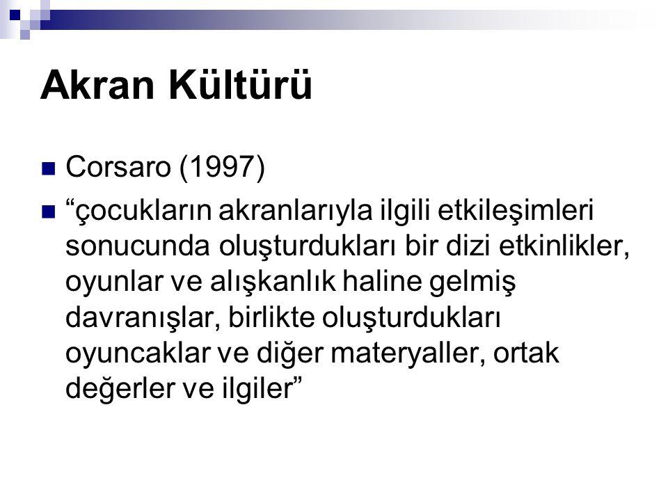 Akran Kültürü Corsaro (1997)
