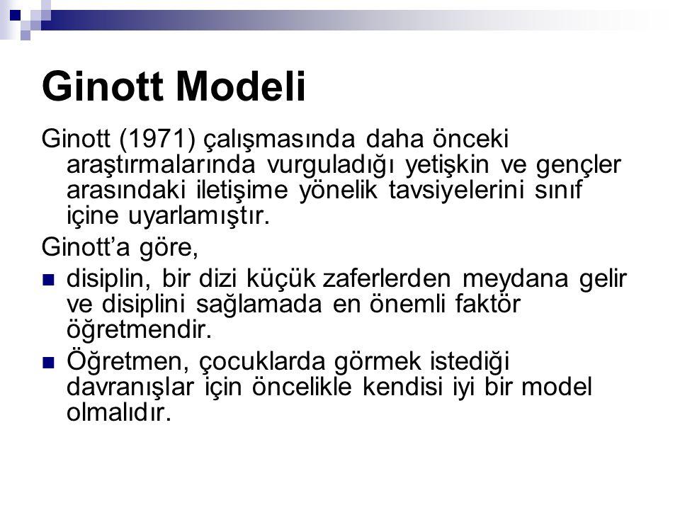 Ginott Modeli